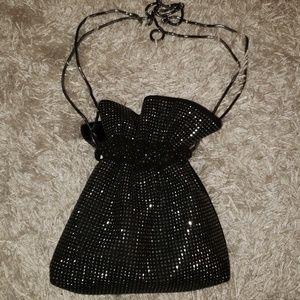 Jeweled designer evening bag